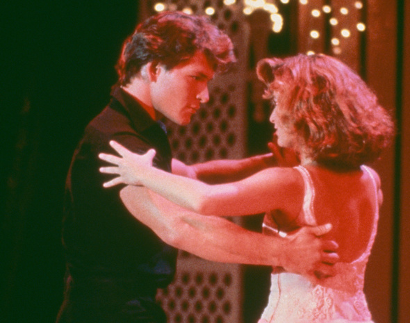 Patrick Swayze y Jennifer Grey en una escena de 'Dirty Dancing'.