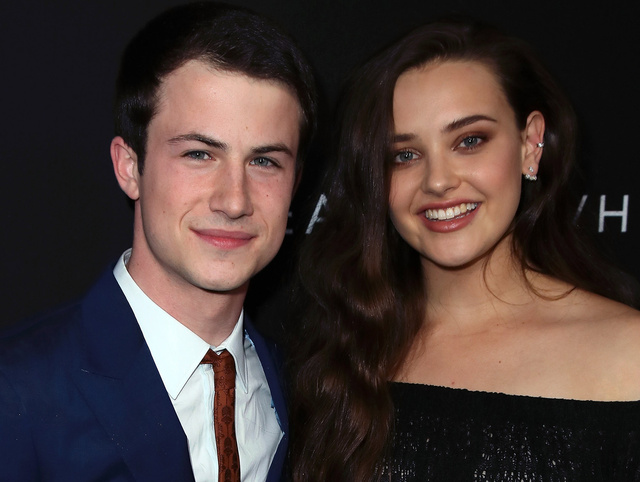 Dylan Minnette y Katherine Langford, protagonistas de '13 rasons why'.