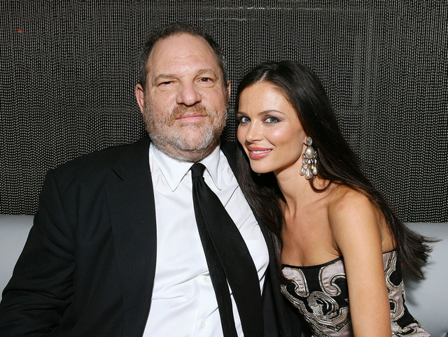 Harvey Weinstein y Georgina Chapman (2008).
