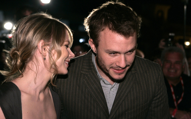 Michelle Williams y Heath Ledger.