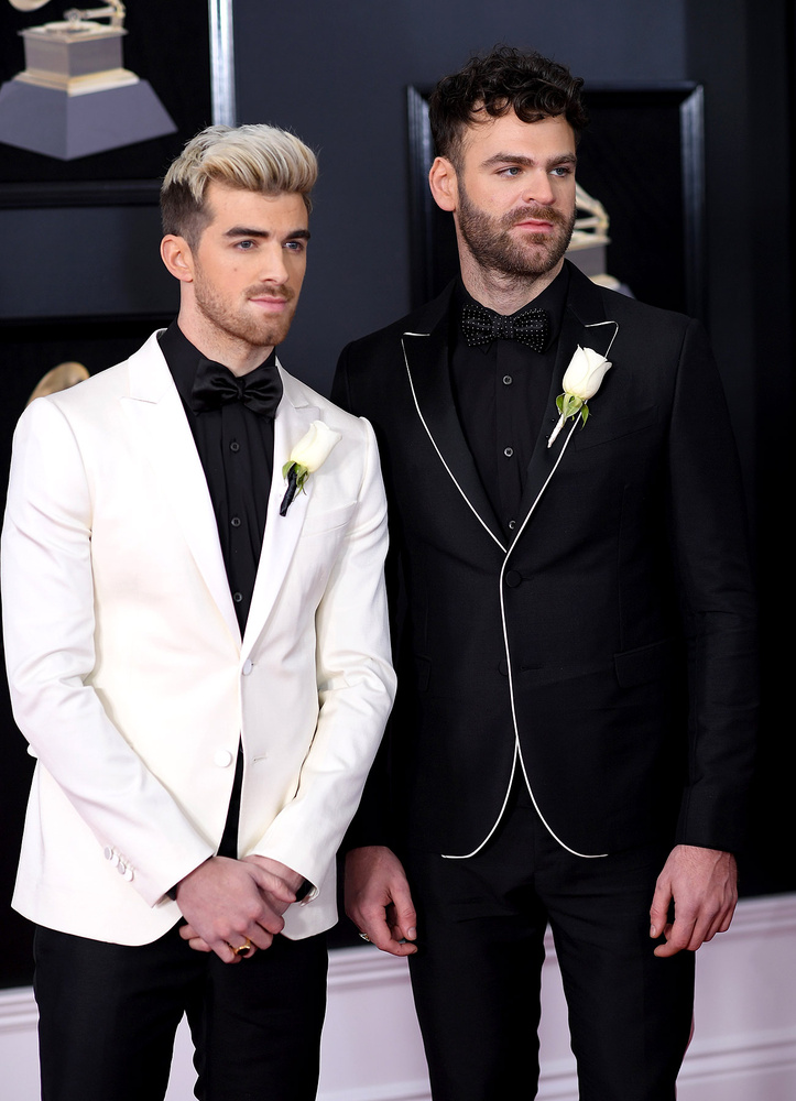 Andrew Taggart y Alex Pall, de The Chainsmokers