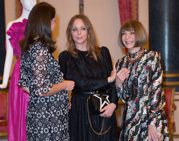 Kate Middleton compartió risas con Stella McCartney y Anna Wintour